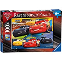 Ravensburger Disney Pixar Cars 3, XXL 100pc Jigsaw Puzzle