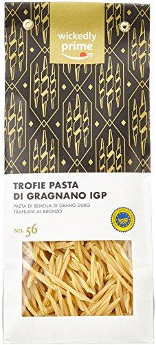 Amazon Brand - Wickedly Prime - Trofie Pasta di Gragnano IGP, 500gx6