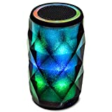 Bluetooth Lautsprecher Lampe Olycism tragbarer kabelloser Bluetooth Lautsprecher Unterstützung TF Karte / AUX mit eingebauten Mikrofon touch LED Licht Reinem Bass Ideal für iPhone X 8 iPad Samsung