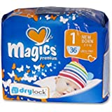babies best Magics Premium 3.0Windeln Gr.1 Newborn 2-5 kg, 108 Windeln