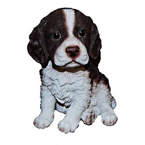 Vivid Arts Pet Pals – Chiot épagneul springer Marron/blanc
