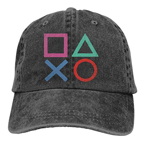 Hoswee Baseballmütze Hüte Kappe Playstation Joypad Unisex Truck Baseball Cap Adjustable Hat Military Caps