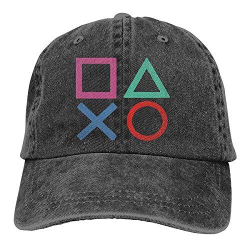 Hoswee Baseballmütze Hüte Kappe Playstation Joypad Unisex Truck Baseball Cap Adjustable Hat Military Caps