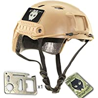Worldshopping4U casco de Airsoft SWAT, BJ, de DE/FG/OD, DE Tan