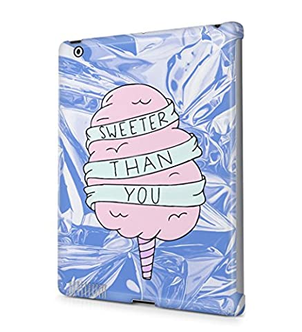 Sweeter Than You Pink Ice Cream Iridescent Foil Durable Hard