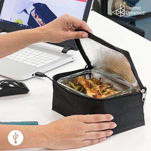 Thermic Dynamics ig112563Kühltasche USB für Lunchbox, Schwarz