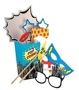 Props photomaton - Pop Art Superhero Party