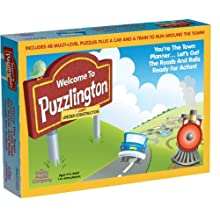 Welcome To Puzzlington - Train Set Puzzle by The Happy Puzzle Company
