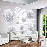 UHU 3D Wallpaper Papier Peint Mural 3D Boule Solide Espace Géométrique Murale Fond Art Moderne Murale Salon Décoration De La Maison, 300 * 210 Cm