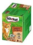 Kitekat Katzenfutter Jagdschmaus in Sauce, 24Stück, 2,4kg