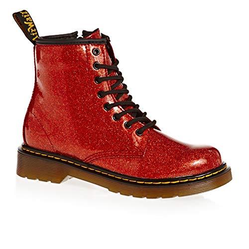 Dr. Martens Mädchen 1460 Glitter J Kurzschaft Stiefel Rot (Red Multi 635) 33 ()