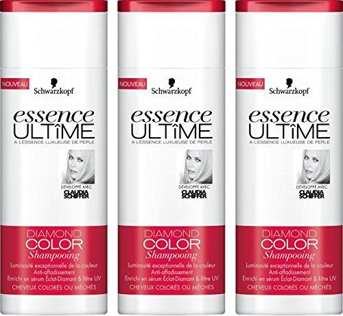 Essence Ultîme Shampooing Diamond Color 250 ml - Lot de 3