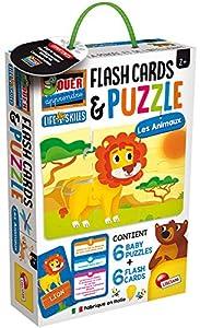 Lisciani Life Skills Juegos Educativos - Puzzle de los Animales - FR72675, Multicolor