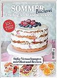 Sommer backen: Ideen für Obstkuchen, Blechkuchen, Rührkuchen, Tartes, Torten, Cupcakes, Cookies und Co. 100 raffinierte Backrezepte. Backen süß: Obstkuchen backen und Torten backen leicht gemacht.