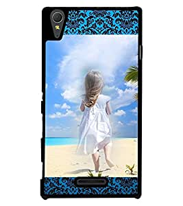Fuson 2D Printed Girly Designer back case cover for Sony Xperia T3 - D4156