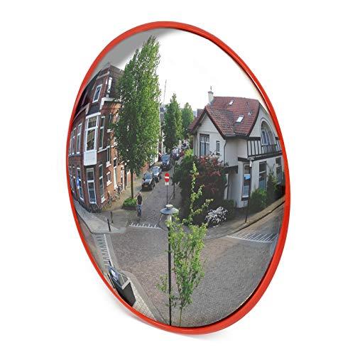 Wiltec Specchio parabolico per Interno Garage Specchio di sorveglianza Convesso 60cm