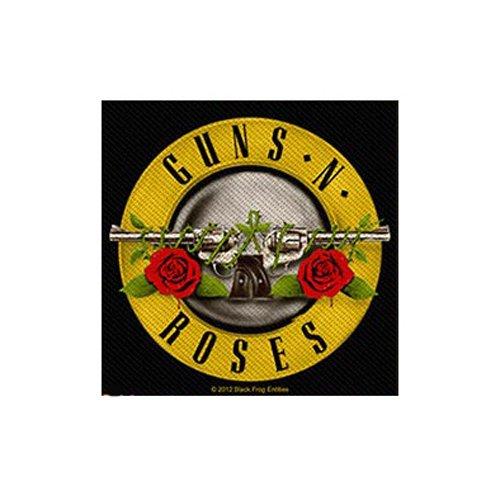 Guns N Roses - Patch Bullet Logo (in 10 cm x 9 cm)