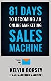 #2: 81 DAYS TO BECOMING AN ONLINE MARKETING SALES MACHINE