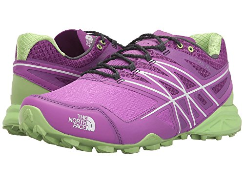 The North Face W Ultra Mt, Chaussures de Running Entrainement Femme Violet - Morado (Sweet Violet / Budding Green)