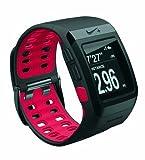 TomTom GPS Laufuhr Nike+ Sportwatch, schwarz mit roter Innenseite