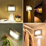 from OxyLED Motion Sensing Closet Lights, OxyLED Wall Light, Luxury Aluminum Stick-on Anywhere Wall Lamp,Indoor Security Light for Stair/Kitchen/Bathroom/Laundry Room/Hallway/Closet(1 Pack, Battery Operated) Model T03