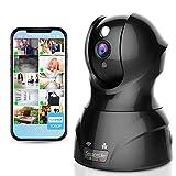 Indoor Wireless IP-Kamera–HD 1080P Netzwerk Sicherheit Überwachung Home Monitoring mit Bewegungserkennung, Nachtsicht, PTZ, 2-Wege Audio, iPhone Android Mobile App–PC WiFi Zugang–ipcamhd82