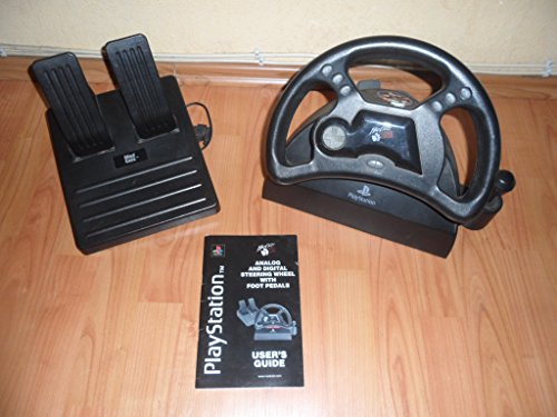 Mad Catz Analog Steering Wheel for PlayStation