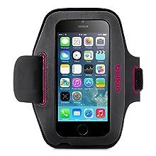 """Belkin - Brassard en Néoprêne """"Sport-Fit"""" pour iPhone 6/6S - Rose"""