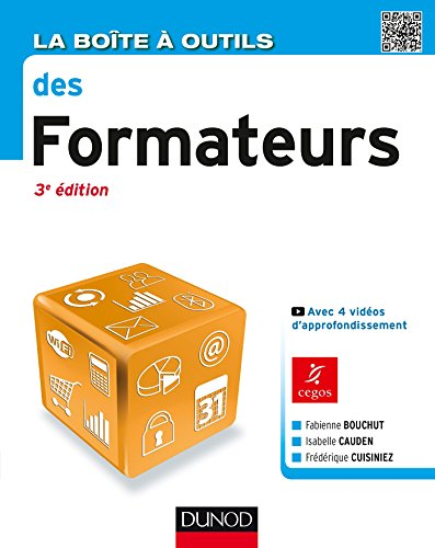 La Boîte à outils des formateurs - 3e éd.