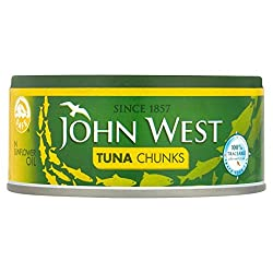 John West Tuna Chunks In Sunflower Oil, 160g