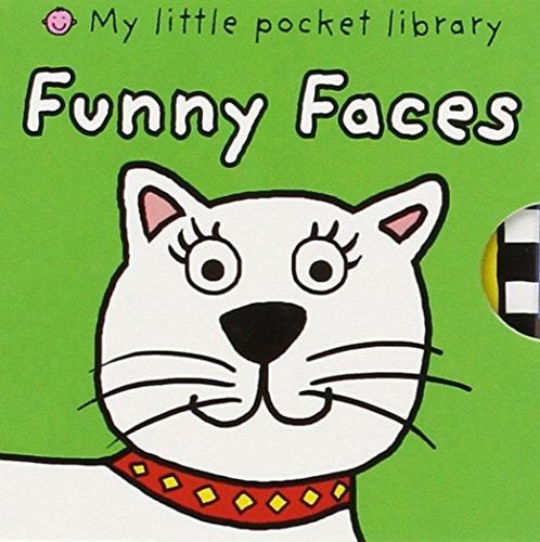 My Little Pocket Library Funny Faces: 6 Books! Dizzy Dragon, Rocky Dog, Millie Cow, Alien Al, Rusty Robot, Charlie Monkey