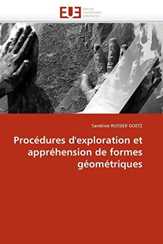 Procédures d'exploration et appréhension de formes géométriques
