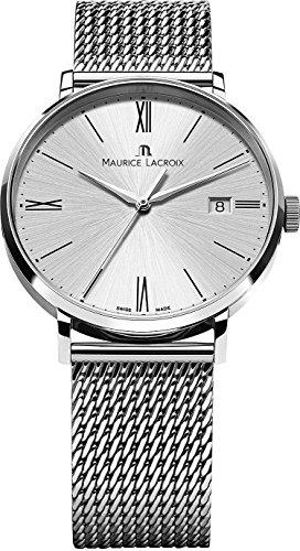 Maurice Lacroix Eliros EL1118-SS002-110-1 Reloj de Pulsera para hombres Plano & ligero