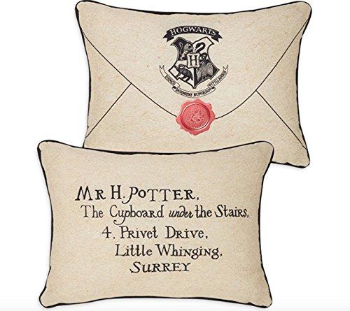 Harry Potter–carta de color beige cojín 30cm x 40cm