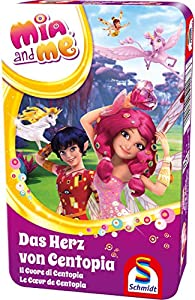 Schmidt Spiele 51416MIA and Me, el corazón de Centopia, niños Juego, Caja de Metal