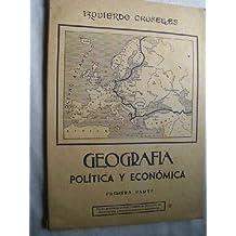 GEOGRAFÍA POLÍTICA Y ECONÓMICA (2 volúmenes)
