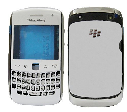 Full Housing Body Panel Faceplate For Blackberry Curve 9360 White  available at amazon for Rs.699