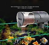 LVRXJP Aquarium Tank Automatische Fischfutter Feeder Timer Aquatic Pet Goldfisch Fütterung Dispenser Batteriebetriebene Einstellbare Auto Feeder Maschine