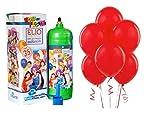 Gasflasche Aufblasen Gas Helium Einweg mit 35Bälle rote