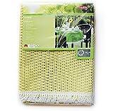 friedola 20623 Rustikal Gartentischdecke lemon, oval 130x180cm