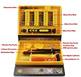 AreTop Screwdriver Set Electronics Repair Tool Kits Fixing for iPhone Mobile, iPad Tablets, MacBook, PC, Smartphones, Watches, Glasses & Other Electronics