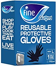 Fine Guard Adult Gloves Livinguard Technology, Infection Prevention – Size Large