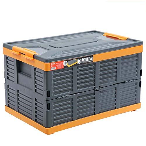Trockenaufbewahrungsbox Kunststoff Multifunktions Faltbare Aufbewahrungsboxen Mit Deckel Home School Office Auto Laden Stapelbare Aufbewahrungsboxen 68L