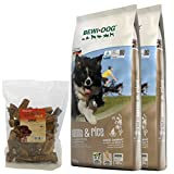 Bewi Dog 2 x 12,5 kg Lamb & Rice + 200 g Canius Lunge