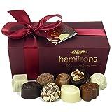 Hamiltons Burgundy Luxury Belgian Ballotin 24 Handmade...