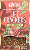lifefood Life Crackers Tomate Chili, 4er Pack (4 x 90 g)