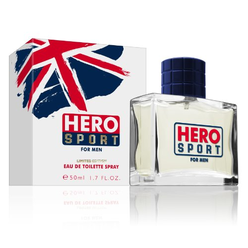 Mayfair Hero Sport, Eau de Toilette spray da uomo, edizione limitata, 50 ml