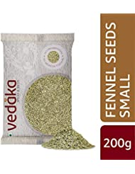 Amazon Brand - Vedaka Fennel Seeds - Small (Saunf), 200g