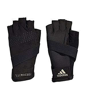 adidas Clima Cool Guanti, Donna, Climacool, Black/Cyber Metallic/Carbon, L