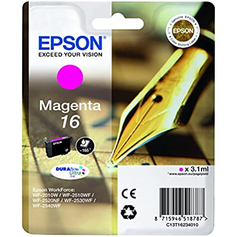 Epson C13T16234010 - Cartucho de tinta, magenta